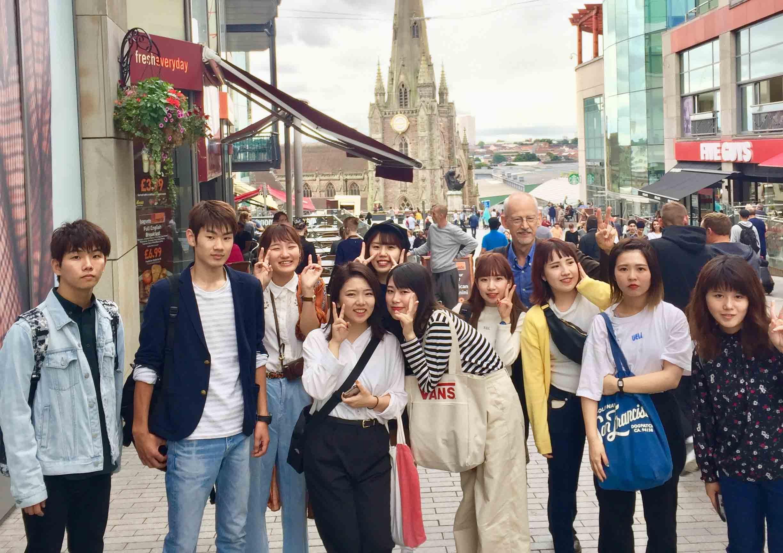 english language students