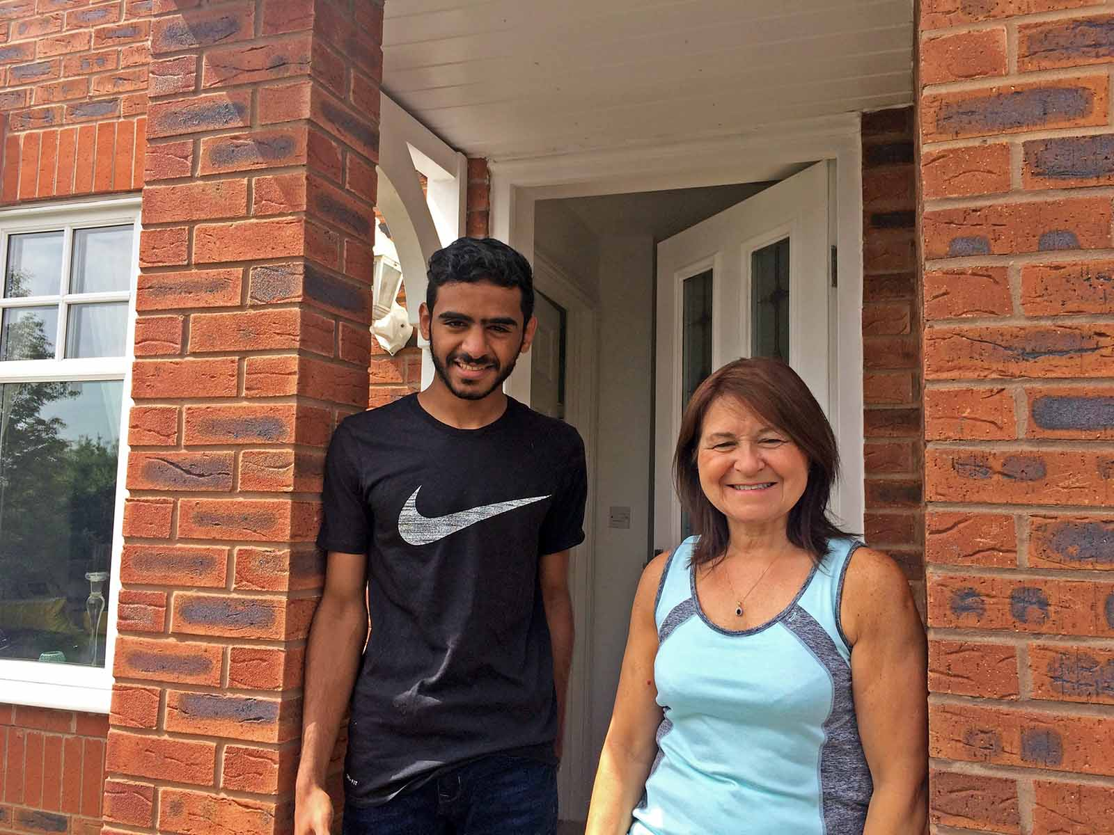 English Language Student homestay host