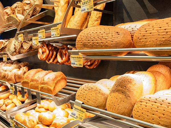 Sortiment der Landbäckerei Gagel