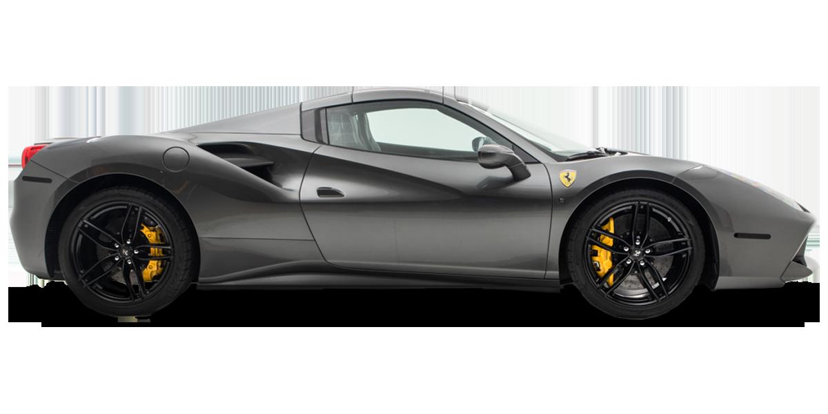 Grey Ferrari 488 FOrt Lauderdale