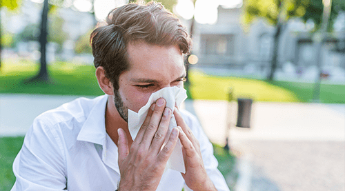Outdoor allergy problems