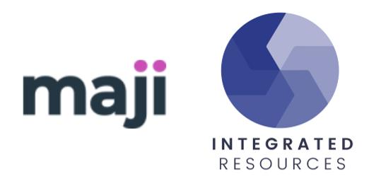 Maji and Integrated Resources Logos