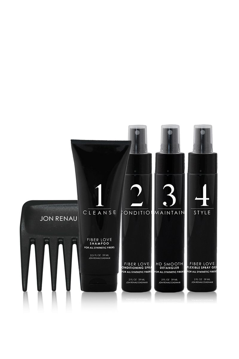 Synthetic Hair Care Travel Kit