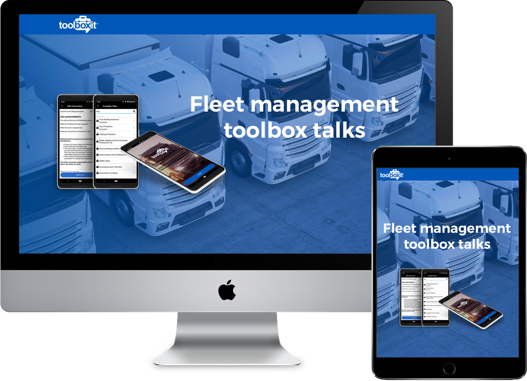 toolboxit - toolbox talk app for FORS members and fleet operators