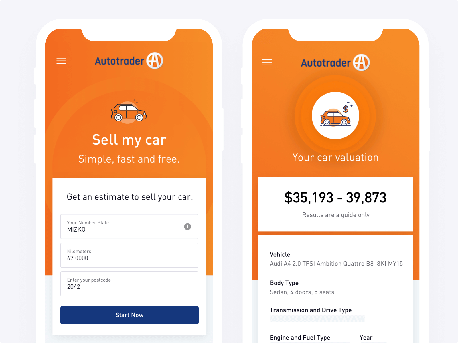autotrader raw studio ux product design