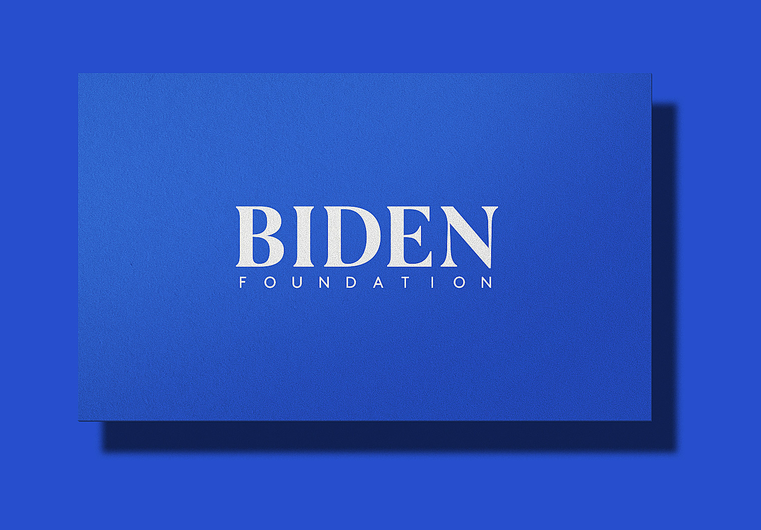 Biden Foundation Logo & Brand