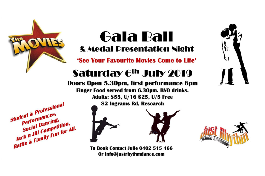 Gala Ball & Award Presentation Night