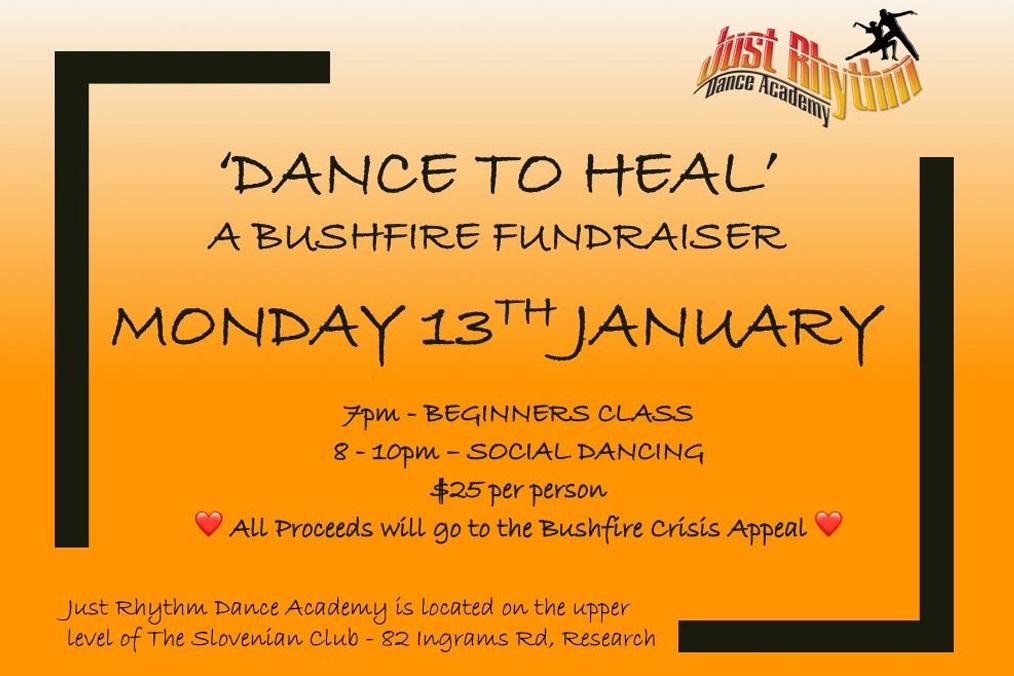 Dance to Heal - A Bushfire Fundraiser