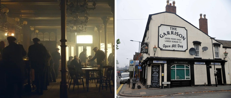 The Garrison Pub, Peaky Blinders, Birmingham