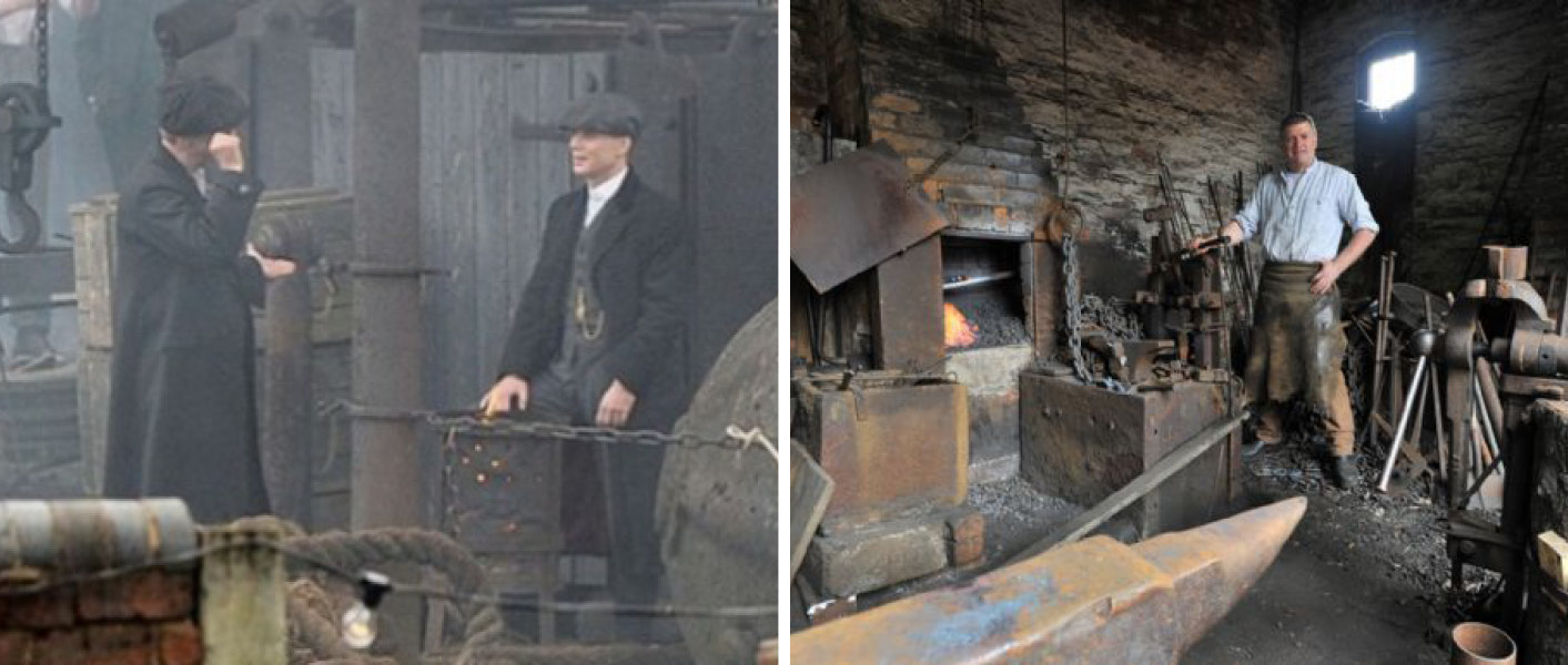 Small Heath and the Firing Furnaces in Birmingham