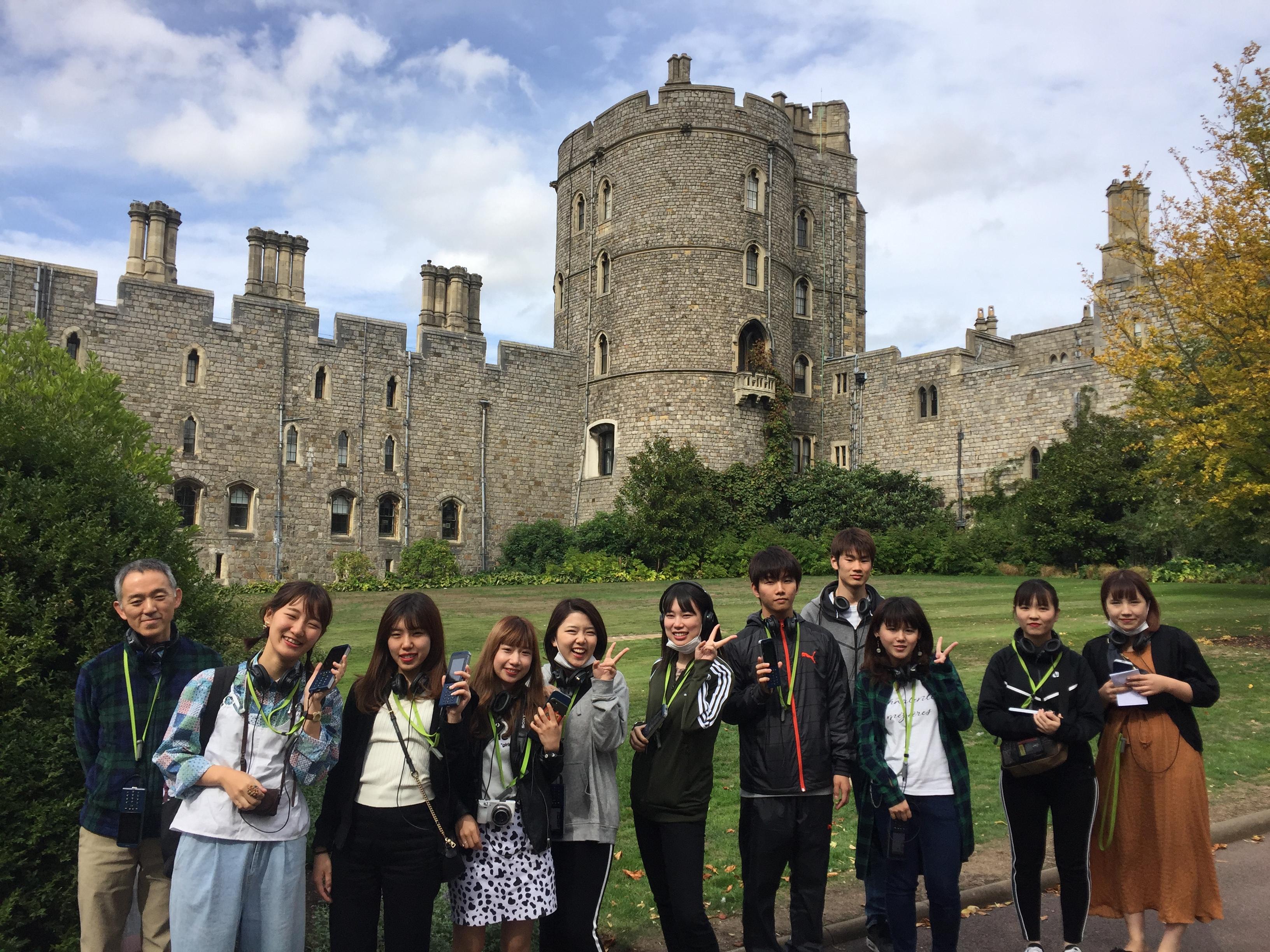 Hijiyama University students visit Windsor Castle