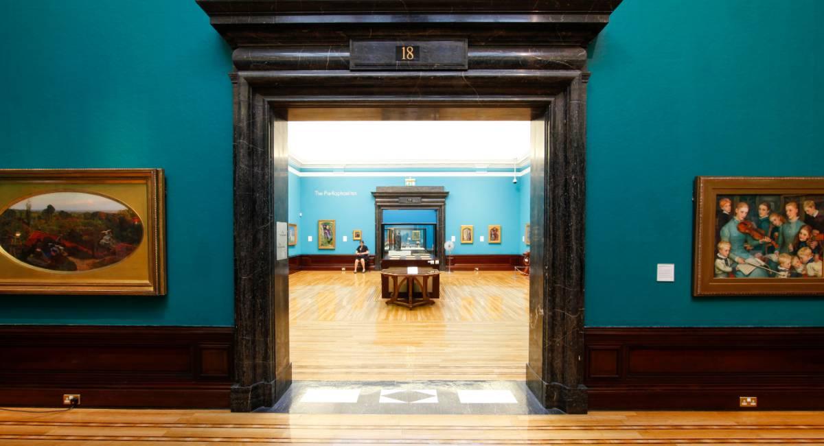 Pre-Raphaelite Gallery at Birmingham Museum and Art Gallery