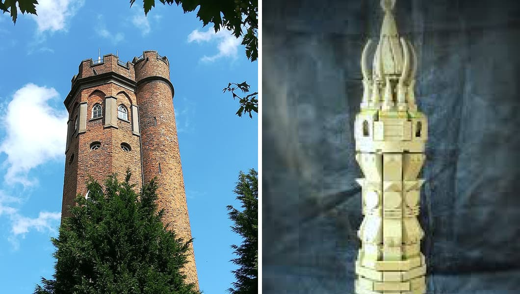 Perrott's Folly and the Two Towers of Gondor