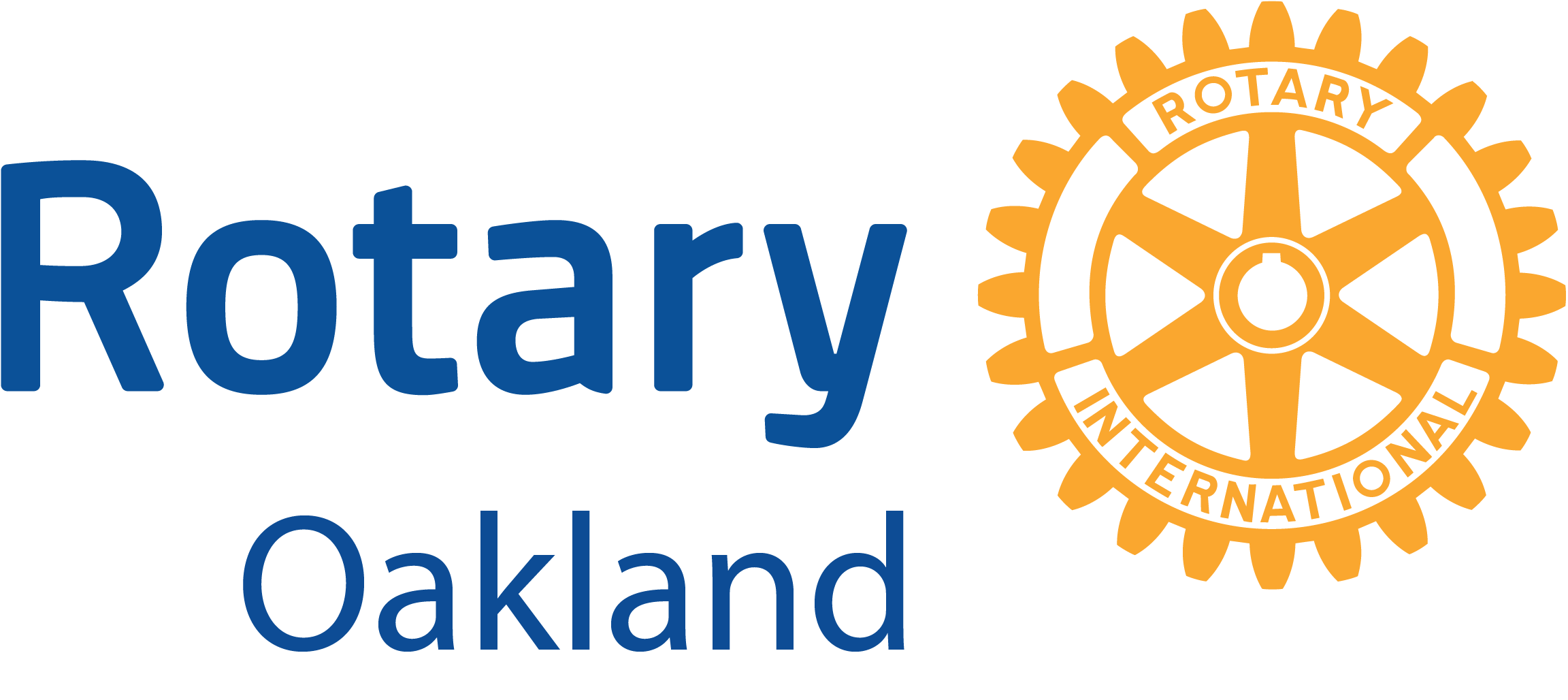 A logo that links to Rotary Club Oakland