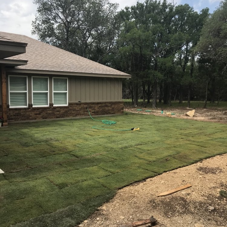 lawn care project by wright's green and clean