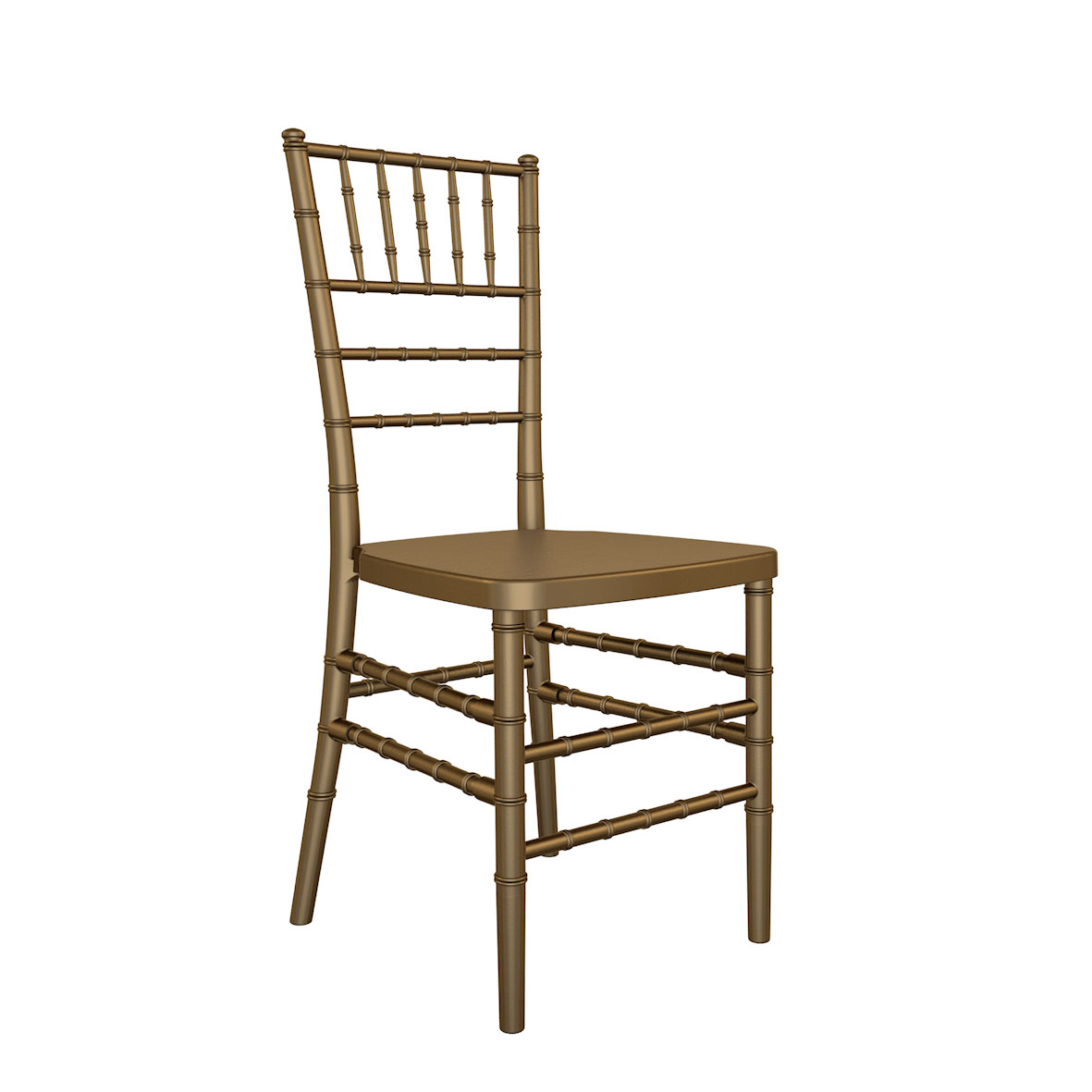Cadeira Tiffany Madeira Dourada
