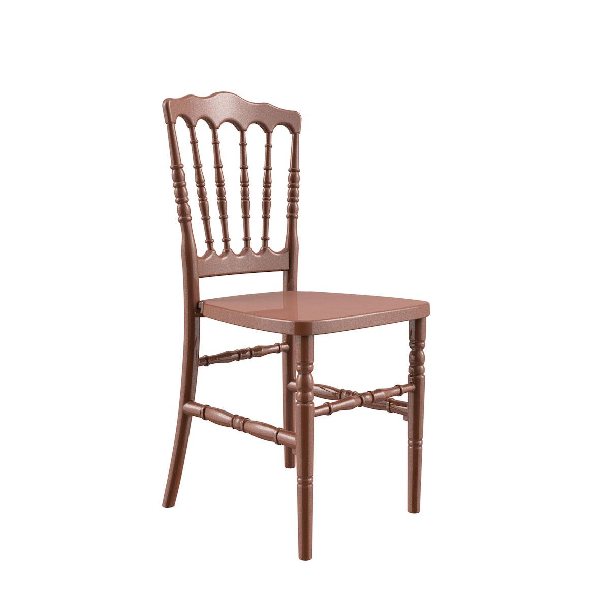 Cadeira Dior Color Dourado Bronze