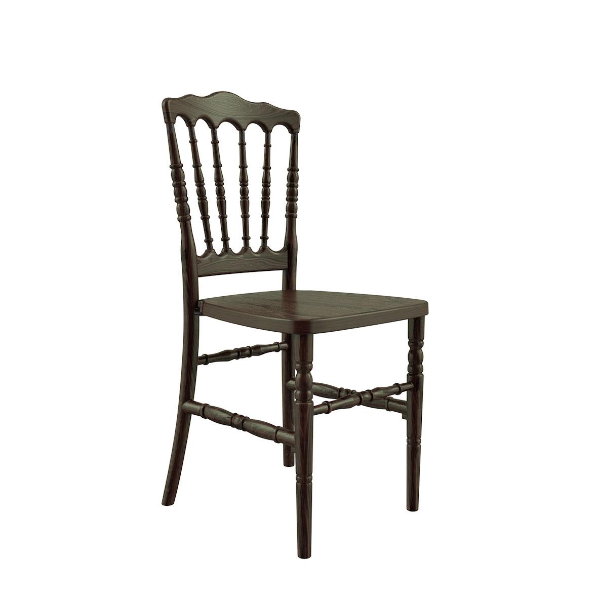 Cadeira Dior Madeira Imbuia Escura