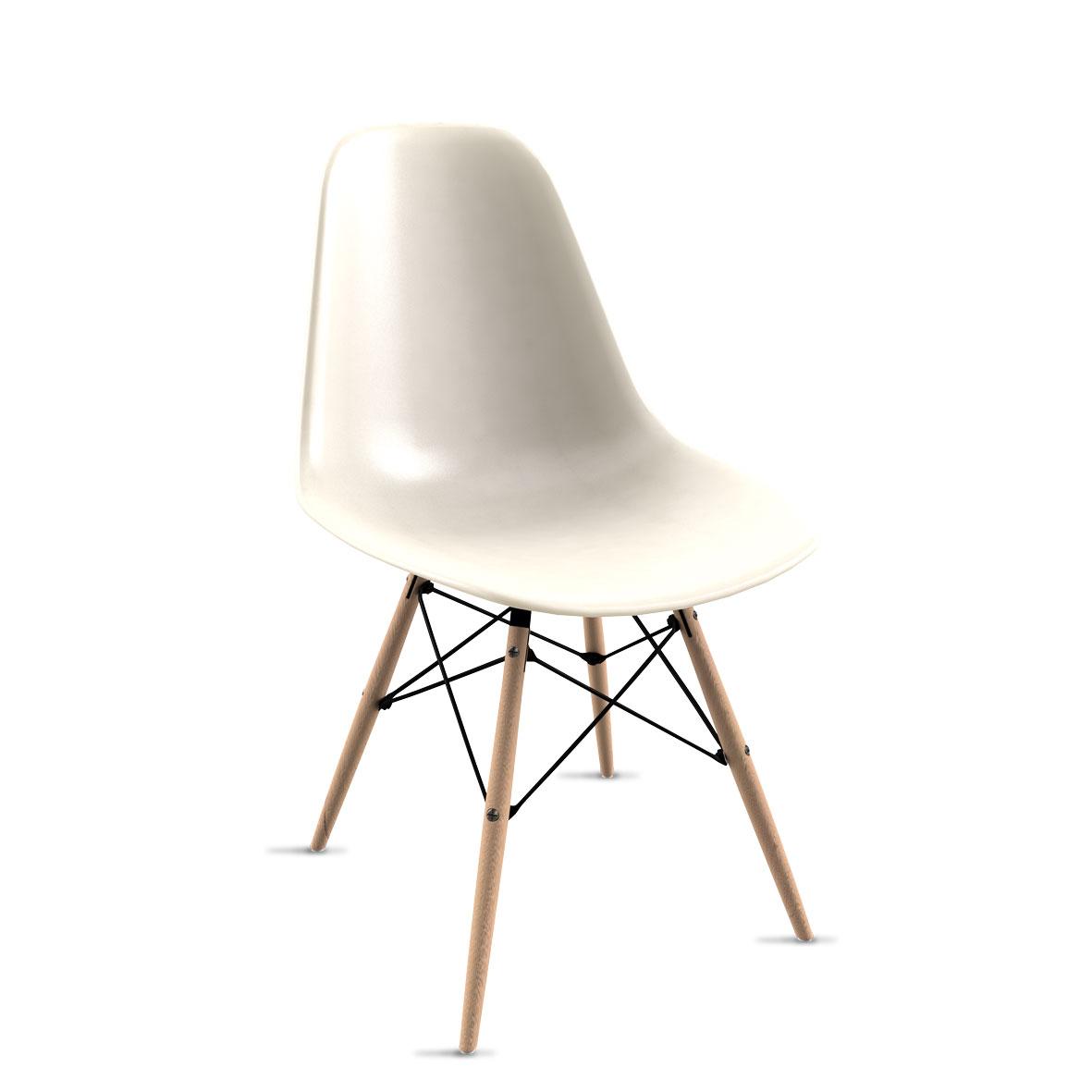 Cadeira Eames Branca
