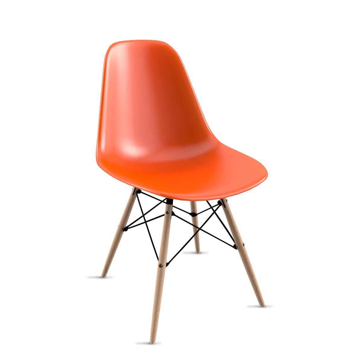 Cadeira Eames Laranja