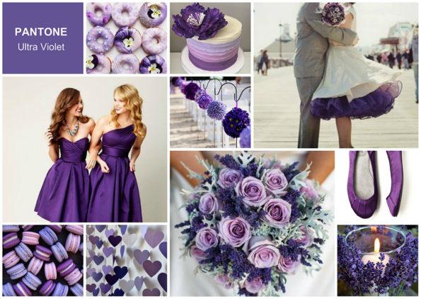 decoração cor do ano ultra violet