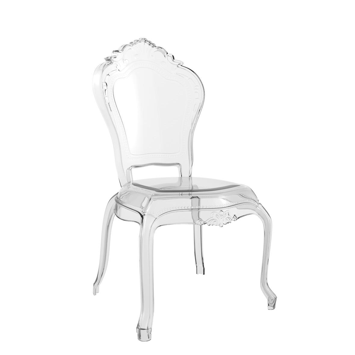 Cadeira Anne Cristal