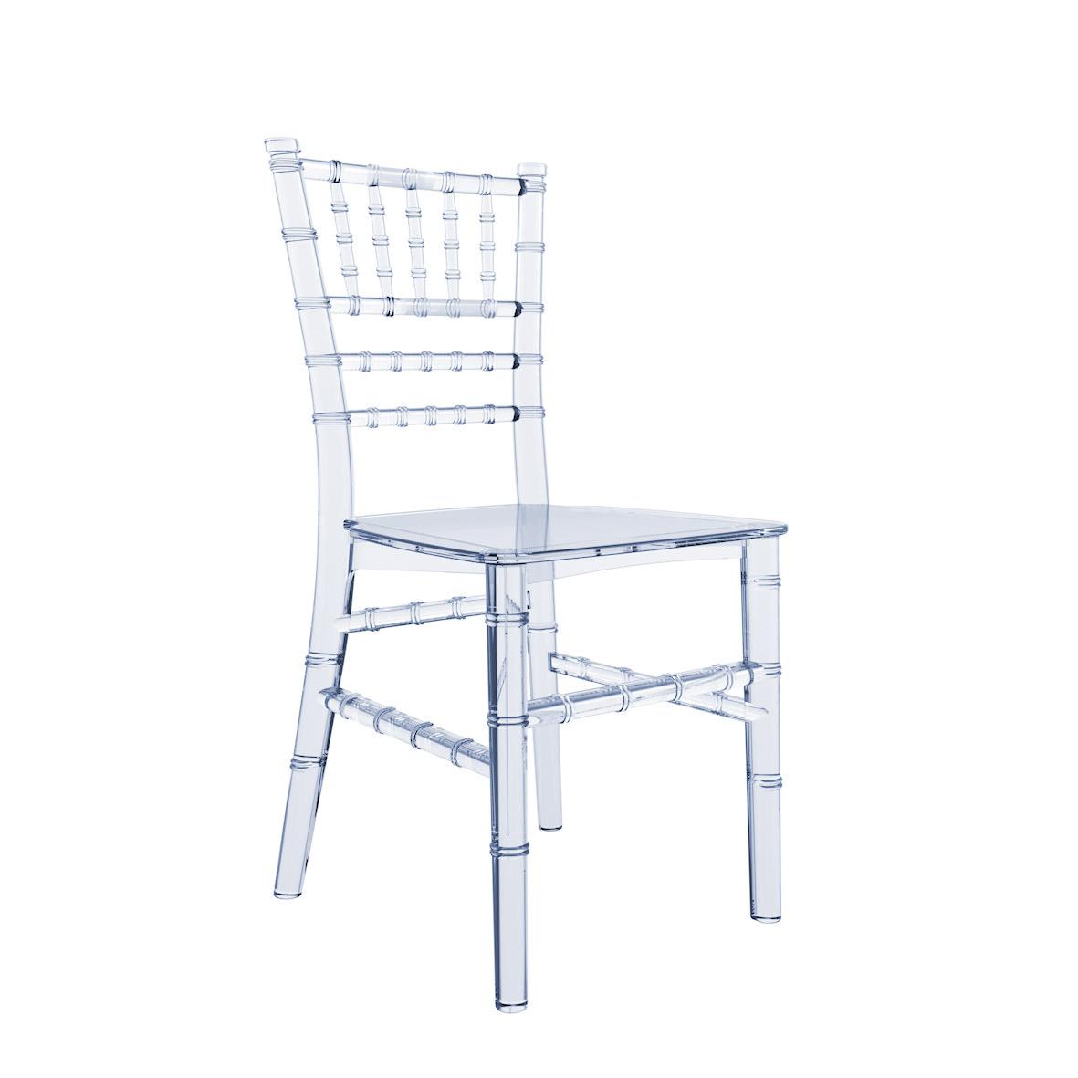 Cadeira Tiffany Infantil Cristal