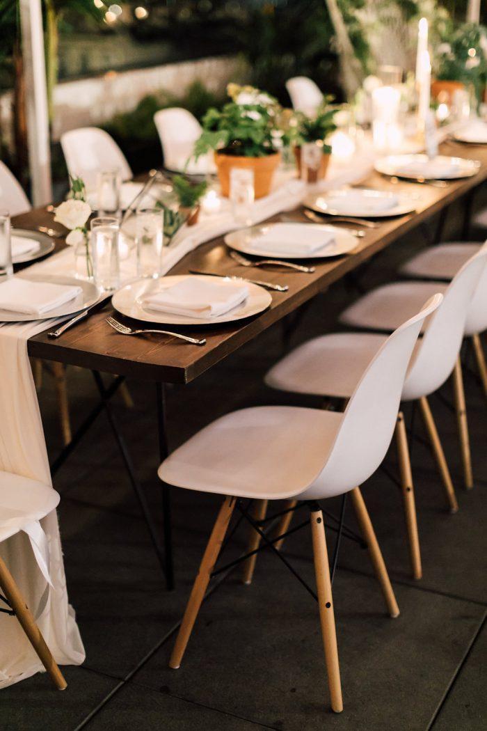 cadeiras modernas para decoração de casamento