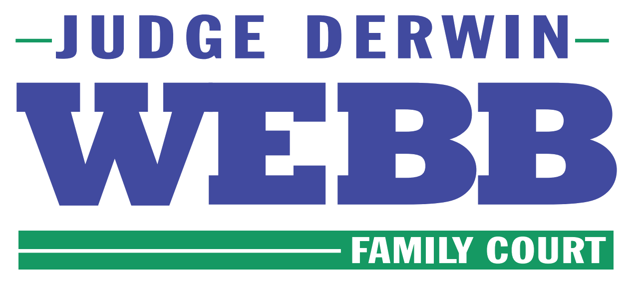 Judge Derwin Webb Family Court Logo
