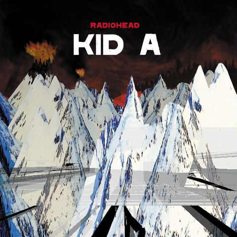 Radiohead - Kid A Album Cover