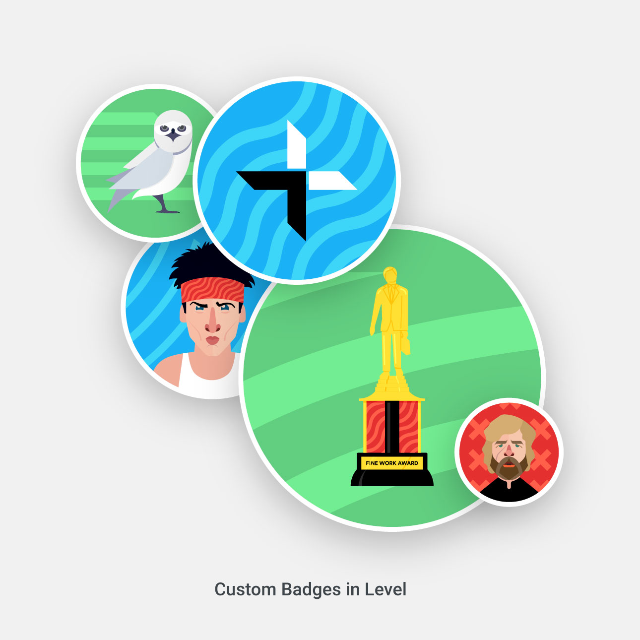 Custom Badges for Level