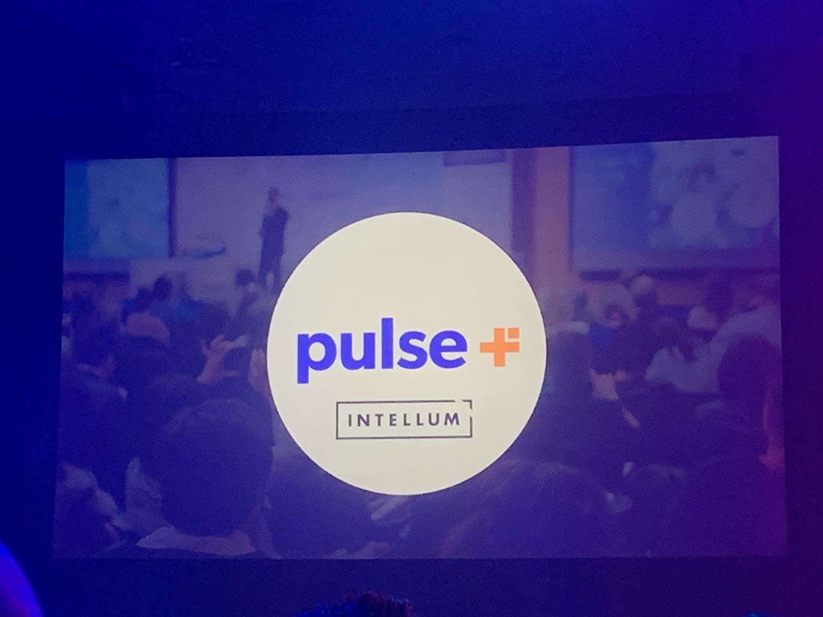Pulse + & Intellum logos presented together on screen.