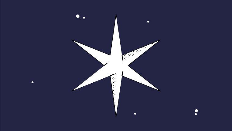 Illustration of a star