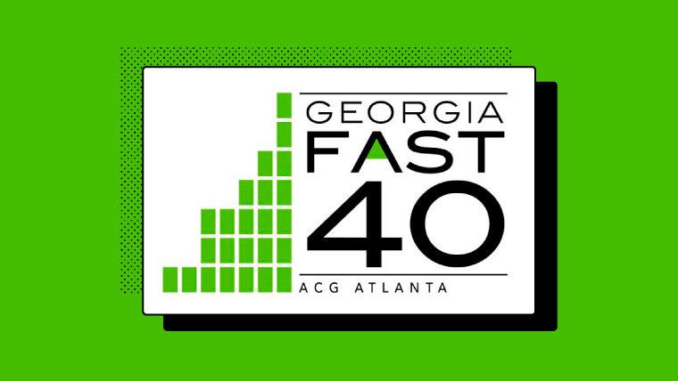 Georgia Fast 40 logo