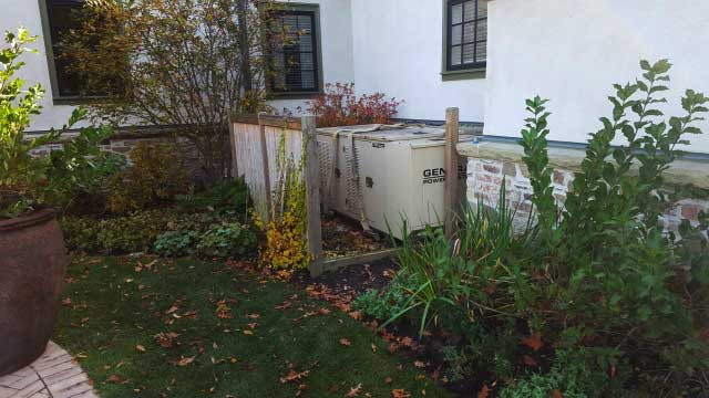Old 25kW Generator Removal