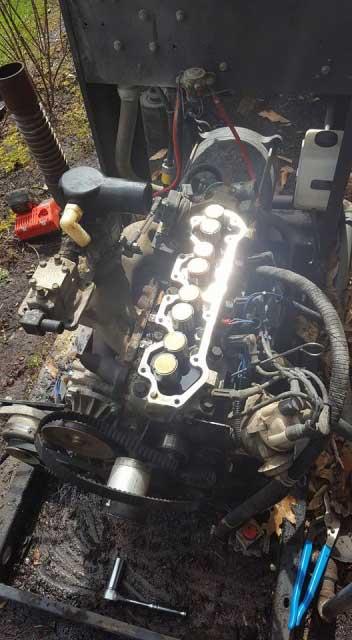 Repair of 20 Year Old Generator