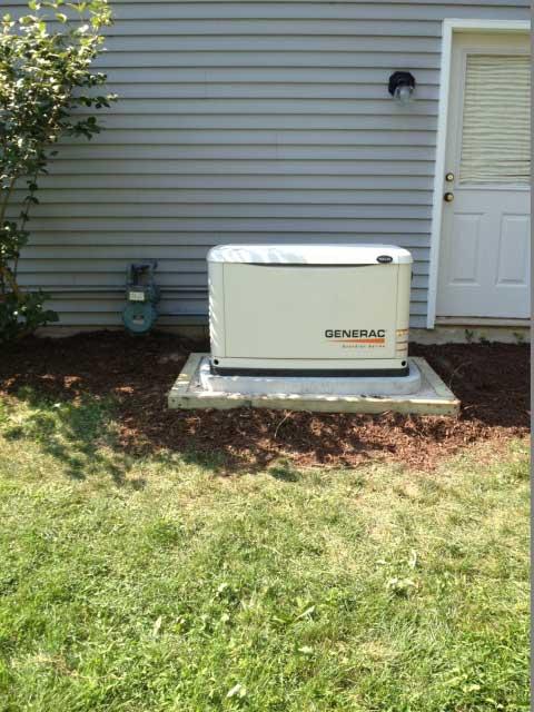 Generac Generator Installed in Lake County