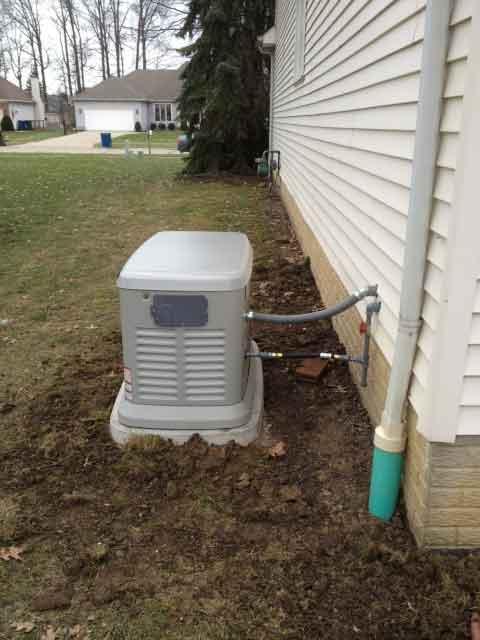 Generac Generator in Cuyahoga County
