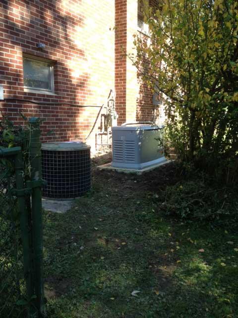 Generac Generator Installed in Portage