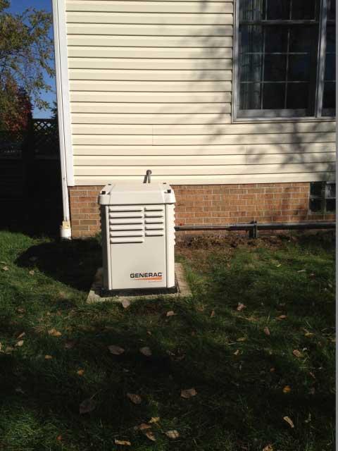 Generac Generator Installed in Cuyahoga County