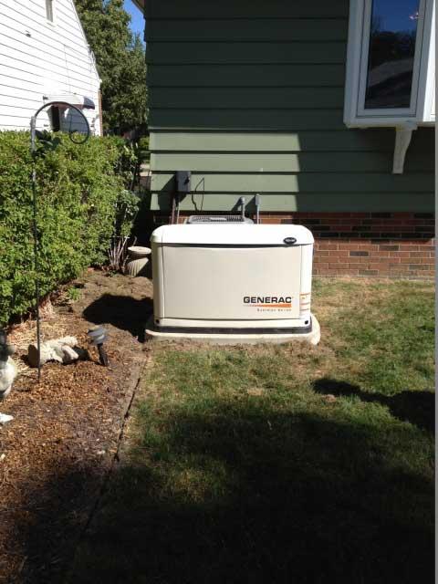Generac Generator Installed in Summit OH