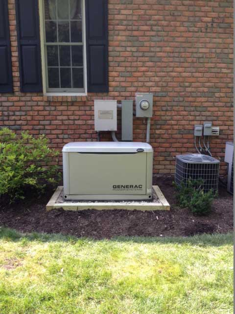 Generac Generator Installed in Geauga County