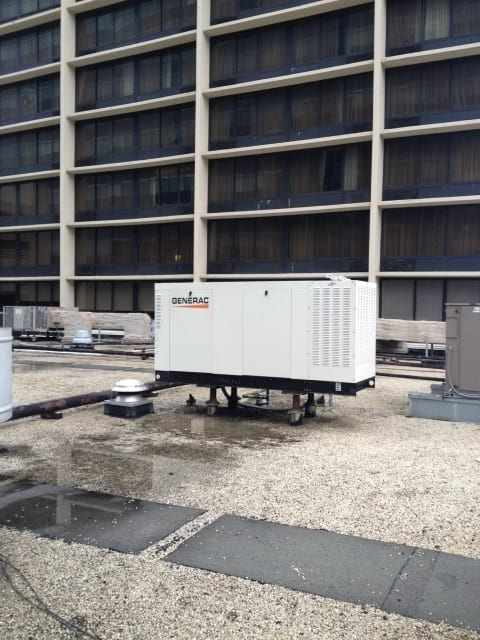 Commercial Outdoor Generac Generators in Cuyahoga County