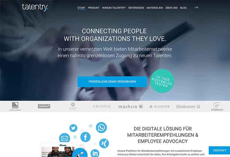 Webdesign Talentry