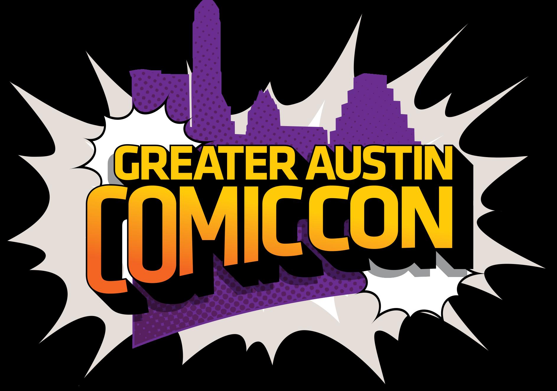 Greater Austin Comic Con Logo