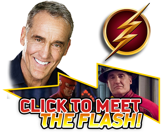 Meet the Flash! Stacked