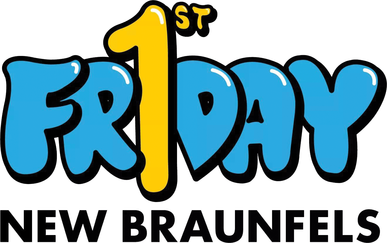First Friday New Braunfels Logo