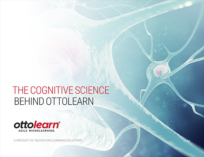 "The cover for OttoLearn's ""The Cognitive Science Behind OttoLearn"" whitepaper - Neovation Learning Solutions"