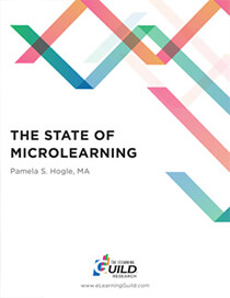 "Cover of the eLearning Guild's ""The State of Microlearning"" paper - Neovation Learning Solutions"
