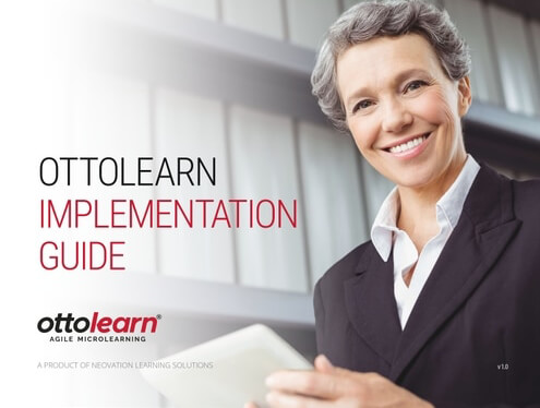 "The cover for the ""OttoLearn Implementation"" guide"